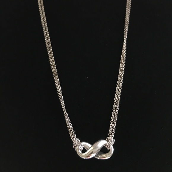 51ea81588 Tiffany & Co. Jewelry | Auth Tiffany Co Infinity Necklace | Poshmark